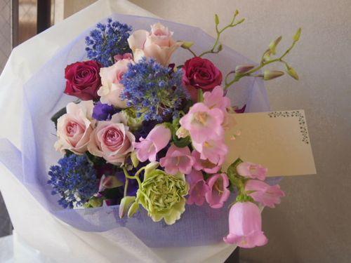 花ギフト|フラワーギフト|誕生日 花|カノシェ話題|スタンド花|ウエディングブーケ|花束|花屋|55906