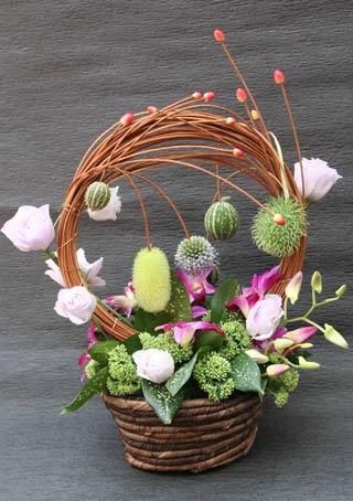 花ギフト|フラワーギフト|誕生日 花|カノシェ話題|スタンド花|ウエディングブーケ|花束|花屋|IMG_8615