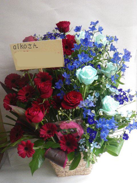 花ギフト フラワーギフト 誕生日 花 カノシェ話題 スタンド花 ウエディングブーケ 花束 花屋 toshi-aop
