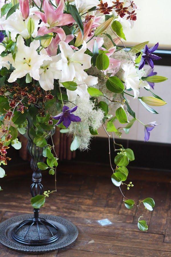 花ギフト|フラワーギフト|誕生日 花|カノシェ話題|スタンド花|ウエディングブーケ|花束|花屋|P6103342