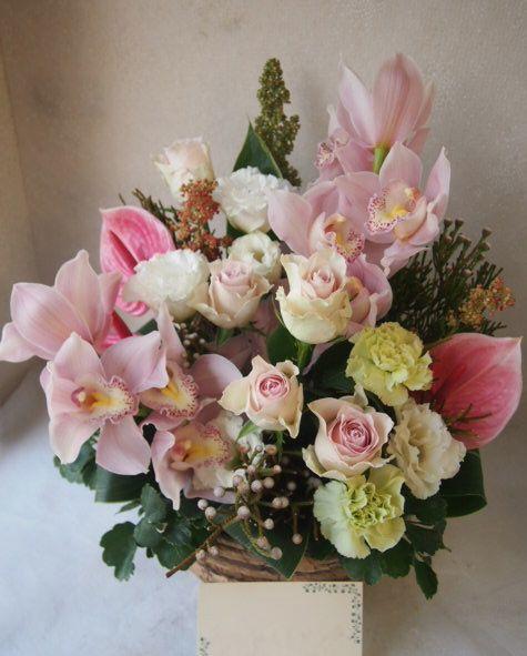 花ギフト|フラワーギフト|誕生日 花|カノシェ話題|スタンド花|ウエディングブーケ|花束|花屋|51202