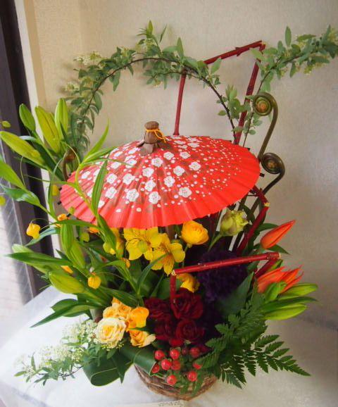 花ギフト|フラワーギフト|誕生日 花|カノシェ話題|スタンド花|ウエディングブーケ|花束|花屋|54324
