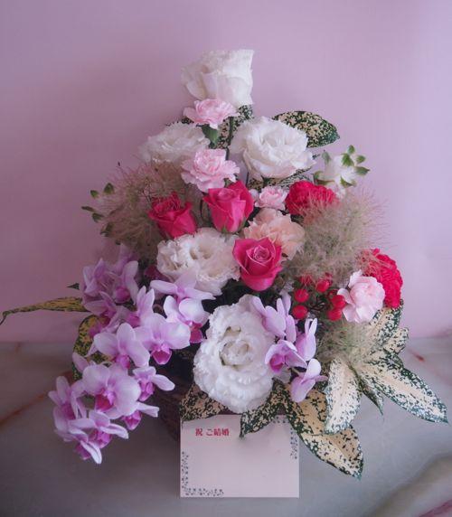 花ギフト|フラワーギフト|誕生日 花|カノシェ話題|スタンド花|ウエディングブーケ|花束|花屋|56610