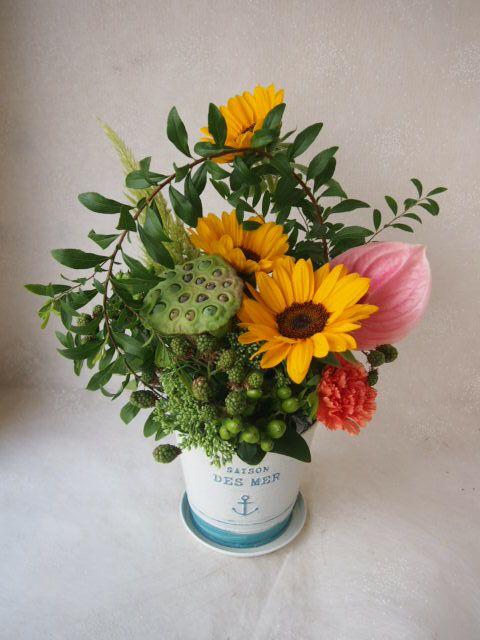 花ギフト|フラワーギフト|誕生日 花|カノシェ話題|スタンド花|ウエディングブーケ|花束|花屋|49588