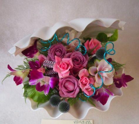 花ギフト|フラワーギフト|誕生日 花|カノシェ話題|スタンド花|ウエディングブーケ|花束|花屋|41356(1)