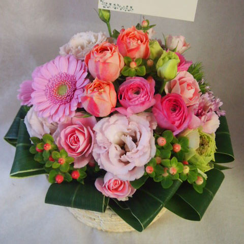 花ギフト|フラワーギフト|誕生日 花|カノシェ話題|スタンド花|ウエディングブーケ|花束|花屋|45097