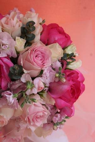 花ギフト|フラワーギフト|誕生日 花|カノシェ話題|スタンド花|ウエディングブーケ|花束|花屋|PINK-ROUND