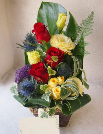 花ギフト|フラワーギフト|誕生日 花|カノシェ話題|スタンド花|ウエディングブーケ|花束|花屋|56378