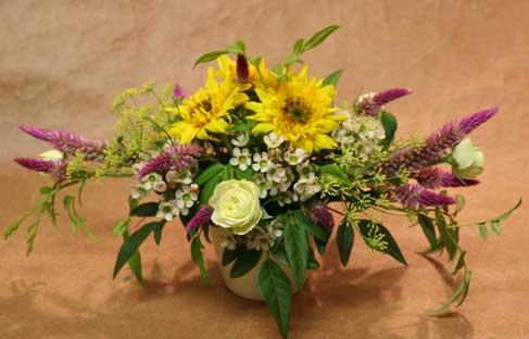 花ギフト フラワーギフト 誕生日 花 カノシェ話題 スタンド花 ウエディングブーケ 花束 花屋 たけださん ゴッホ