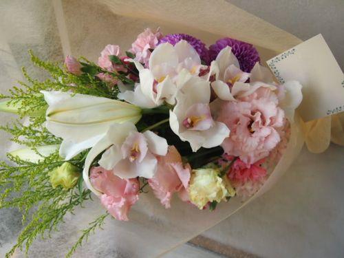 花ギフト|フラワーギフト|誕生日 花|カノシェ話題|スタンド花|ウエディングブーケ|花束|花屋|51544