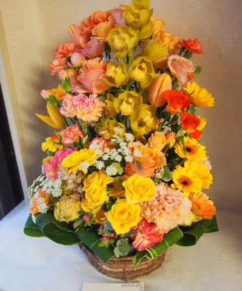 花ギフト|フラワーギフト|誕生日 花|カノシェ話題|スタンド花|ウエディングブーケ|花束|花屋|54008