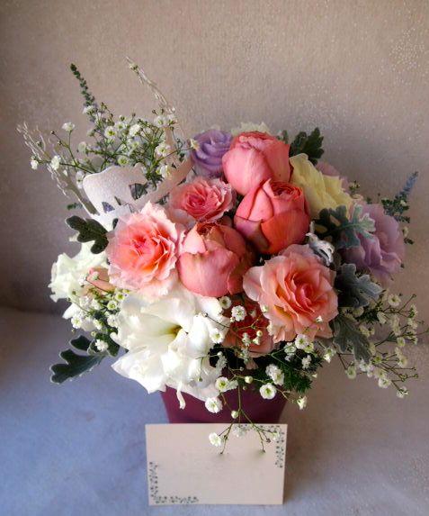 花ギフト|フラワーギフト|誕生日 花|カノシェ話題|スタンド花|ウエディングブーケ|花束|花屋|52702
