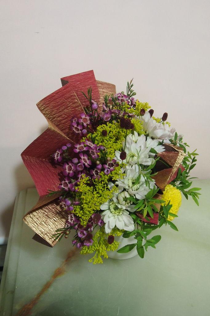 花ギフト フラワーギフト 誕生日 花 カノシェ話題 スタンド花 ウエディングブーケ 花束 花屋 manamisanyoko