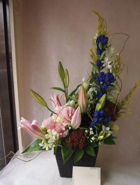 花ギフト|フラワーギフト|誕生日 花|カノシェ話題|スタンド花|ウエディングブーケ|花束|花屋|43273