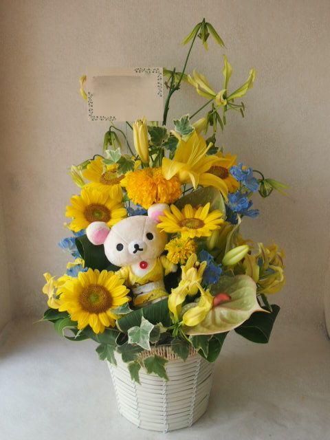 花ギフト|フラワーギフト|誕生日 花|カノシェ話題|スタンド花|ウエディングブーケ|花束|花屋|49369