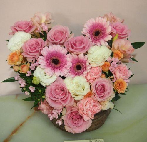 花ギフト|フラワーギフト|誕生日 花|カノシェ話題|スタンド花|ウエディングブーケ|花束|花屋|57958