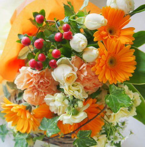 花ギフト|フラワーギフト|誕生日 花|カノシェ話題|スタンド花|ウエディングブーケ|花束|花屋|54746