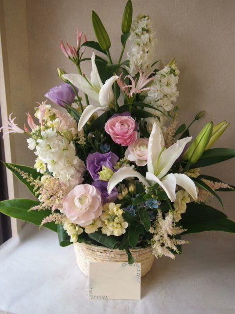 花ギフト|フラワーギフト|誕生日 花|カノシェ話題|スタンド花|ウエディングブーケ|花束|花屋|52075