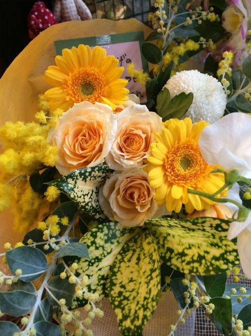 花ギフト|フラワーギフト|誕生日 花|カノシェ話題|スタンド花|ウエディングブーケ|花束|花屋|IMG_8924