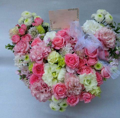 花ギフト|フラワーギフト|誕生日 花|カノシェ話題|スタンド花|ウエディングブーケ|花束|花屋|54187