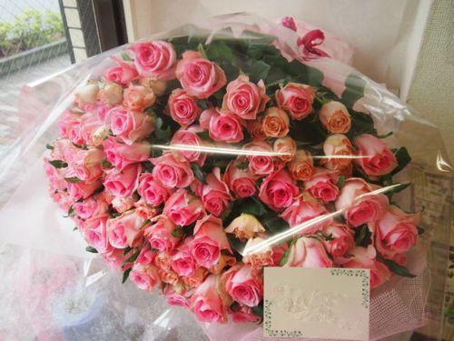花ギフト|フラワーギフト|誕生日 花|カノシェ話題|スタンド花|ウエディングブーケ|花束|花屋|48067(1)
