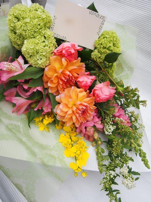 花ギフト|フラワーギフト|誕生日 花|カノシェ話題|スタンド花|ウエディングブーケ|花束|花屋|54704