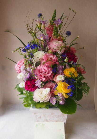 花ギフト|フラワーギフト|誕生日 花|カノシェ話題|スタンド花|ウエディングブーケ|花束|花屋|54445