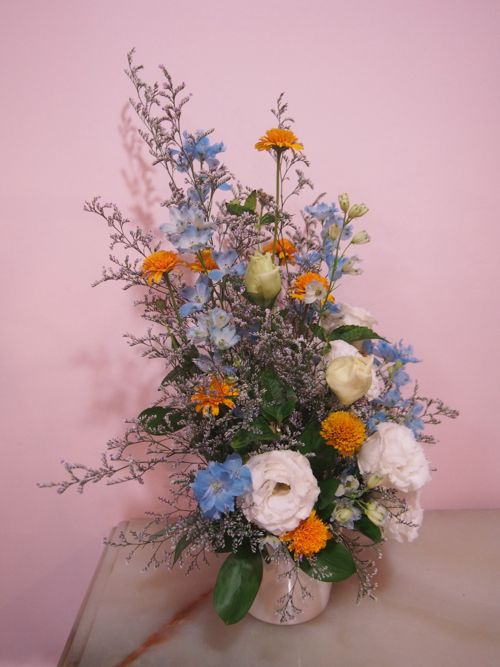 花ギフト|フラワーギフト|誕生日 花|カノシェ話題|スタンド花|ウエディングブーケ|花束|花屋|P6290550