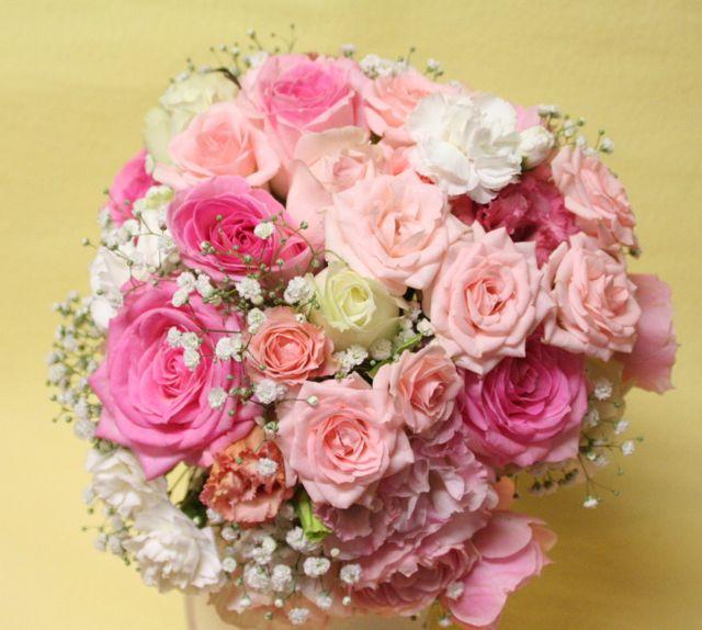 花ギフト|フラワーギフト|誕生日 花|カノシェ話題|スタンド花|ウエディングブーケ|花束|花屋|IMG_0272