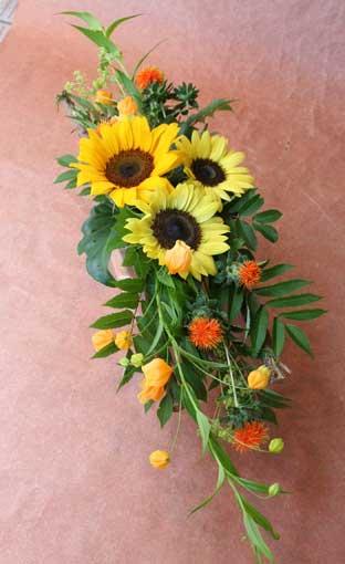 花ギフト|フラワーギフト|誕生日 花|カノシェ話題|スタンド花|ウエディングブーケ|花束|花屋|えみこさんひまわり