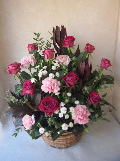 花ギフト|フラワーギフト|誕生日 花|カノシェ話題|スタンド花|ウエディングブーケ|花束|花屋|56221