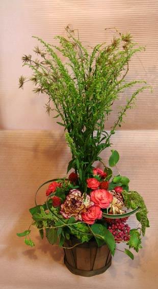 花ギフト|フラワーギフト|誕生日 花|カノシェ話題|スタンド花|ウエディングブーケ|花束|花屋|さくらいさん ソリダゴ