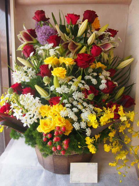 花ギフト|フラワーギフト|誕生日 花|カノシェ話題|スタンド花|ウエディングブーケ|花束|花屋|47020