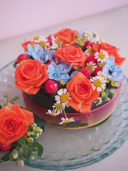 花ギフト|フラワーギフト|誕生日 花|カノシェ話題|スタンド花|ウエディングブーケ|花束|花屋|P6280525