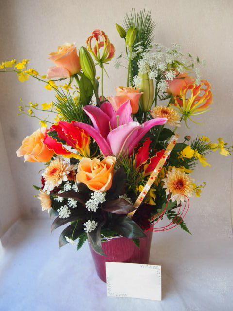 花ギフト|フラワーギフト|誕生日 花|カノシェ話題|スタンド花|ウエディングブーケ|花束|花屋|52784