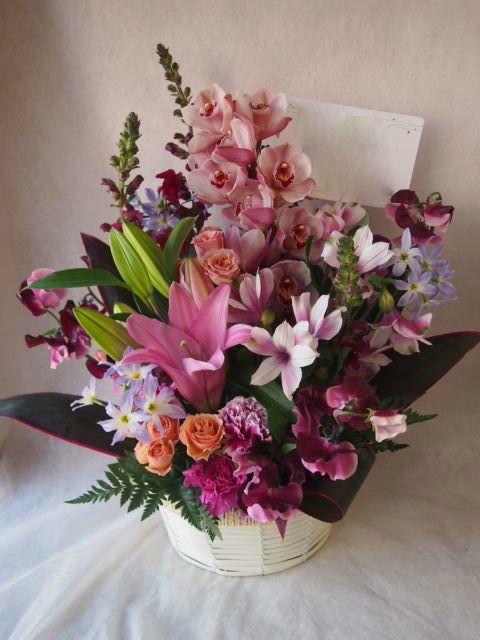 花ギフト|フラワーギフト|誕生日 花|カノシェ話題|スタンド花|ウエディングブーケ|花束|花屋|46055