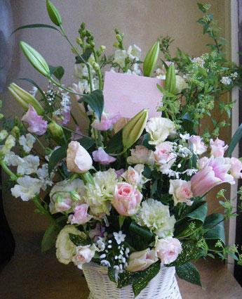 花ギフト|フラワーギフト|誕生日 花|カノシェ話題|スタンド花|ウエディングブーケ|花束|花屋|ちか ピンク