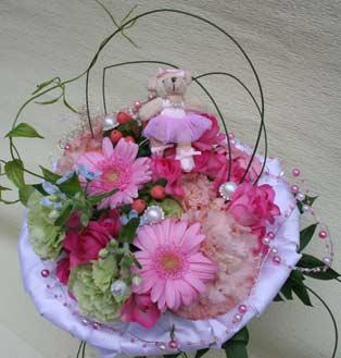 花ギフト|フラワーギフト|誕生日 花|カノシェ話題|スタンド花|ウエディングブーケ|花束|花屋|cute_b3