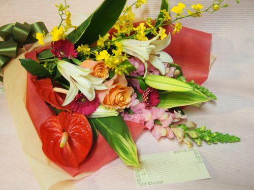 花ギフト|フラワーギフト|誕生日 花|カノシェ話題|スタンド花|ウエディングブーケ|花束|花屋|52773