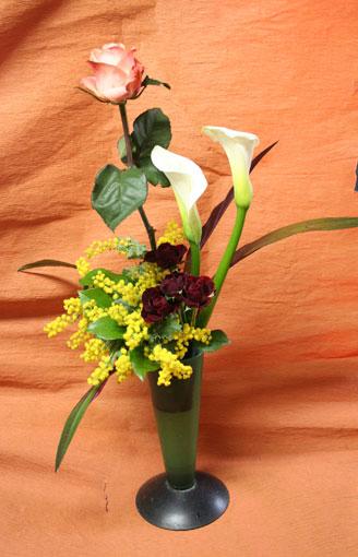 花ギフト|フラワーギフト|誕生日 花|カノシェ話題|スタンド花|ウエディングブーケ|花束|花屋|ちよこさん ミモザ