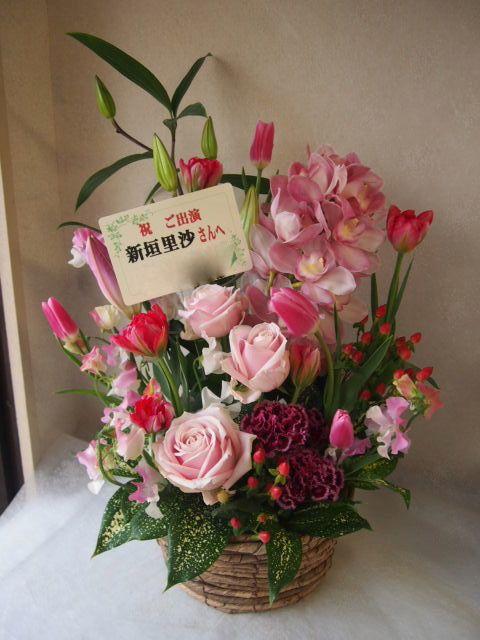 花ギフト|フラワーギフト|誕生日 花|カノシェ話題|スタンド花|ウエディングブーケ|花束|花屋|53486