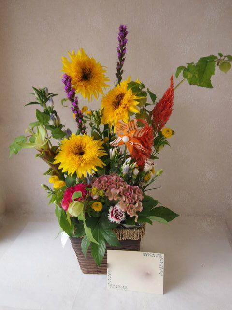 花ギフト|フラワーギフト|誕生日 花|カノシェ話題|スタンド花|ウエディングブーケ|花束|花屋|49984