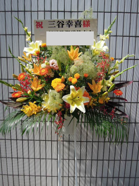 花ギフト フラワーギフト 誕生日 花 カノシェ話題 スタンド花 ウエディングブーケ 花束 花屋 _yor16463