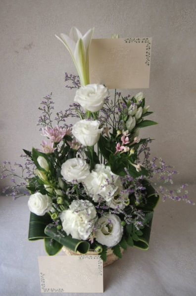 花ギフト|フラワーギフト|誕生日 花|カノシェ話題|スタンド花|ウエディングブーケ|花束|花屋|57724