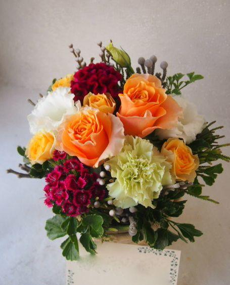 花ギフト|フラワーギフト|誕生日 花|カノシェ話題|スタンド花|ウエディングブーケ|花束|花屋|51147
