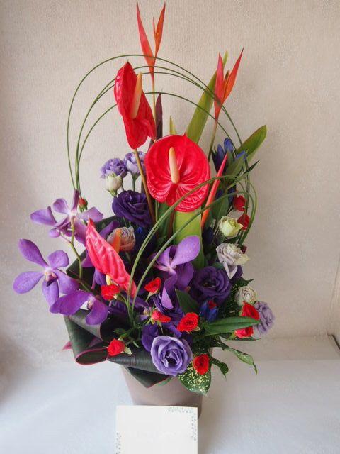 花ギフト|フラワーギフト|誕生日 花|カノシェ話題|スタンド花|ウエディングブーケ|花束|花屋|49558