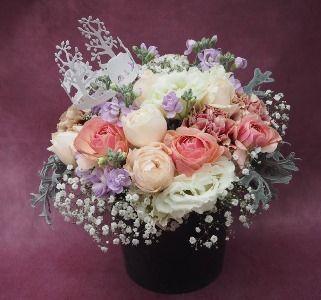花ギフト|フラワーギフト|誕生日 花|カノシェ話題|スタンド花|ウエディングブーケ|花束|花屋|2015_xmas_a2