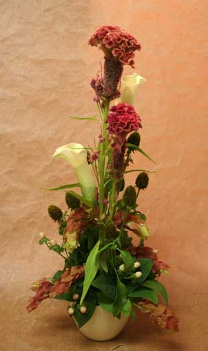 花ギフト フラワーギフト 誕生日 花 カノシェ話題 スタンド花 ウエディングブーケ 花束 花屋 みつこさん けいとう