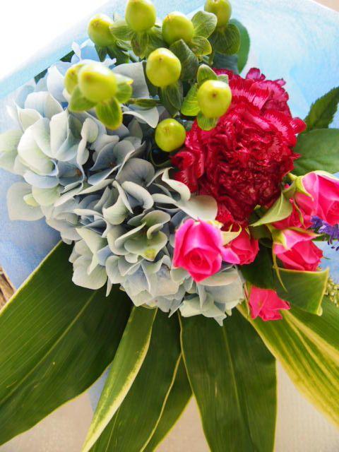 花ギフト|フラワーギフト|誕生日 花|カノシェ話題|スタンド花|ウエディングブーケ|花束|花屋|56754