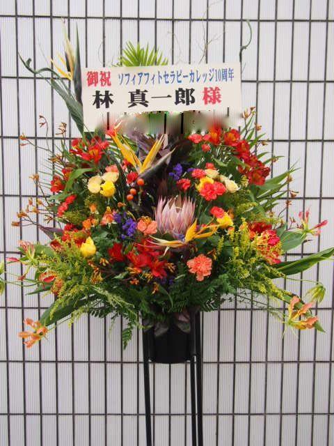 秋〜冬(10月11月12月)のスタンド花|スタンドフラワー カノシェ59249 (2)